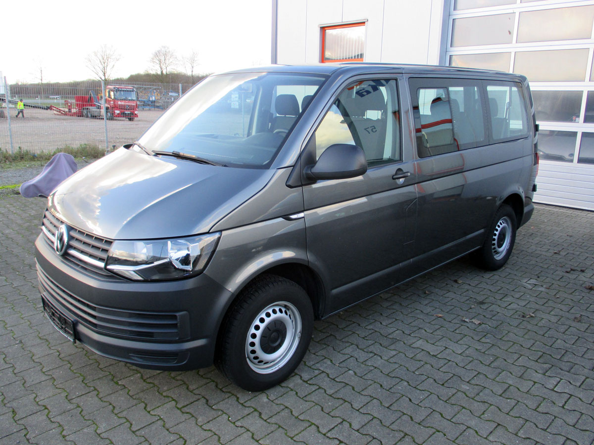 vw transporter t6 diesel 9 sitzer euro 6 w gebraucht. Black Bedroom Furniture Sets. Home Design Ideas